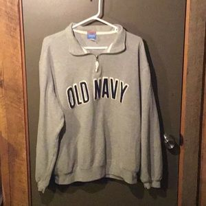 Old Navy Active XL 1/4 Zip Spell Out Pullover